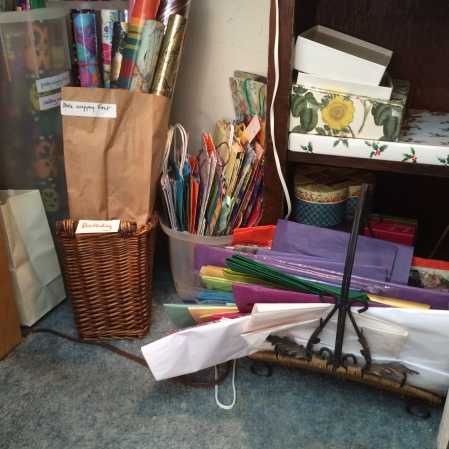 wrapping-paper-in-closet